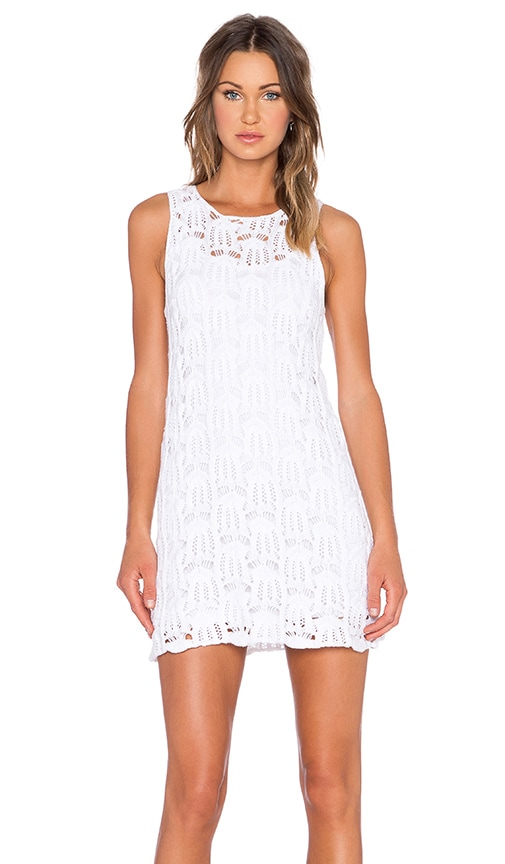MINKPINK Break Free Tank Dress in White