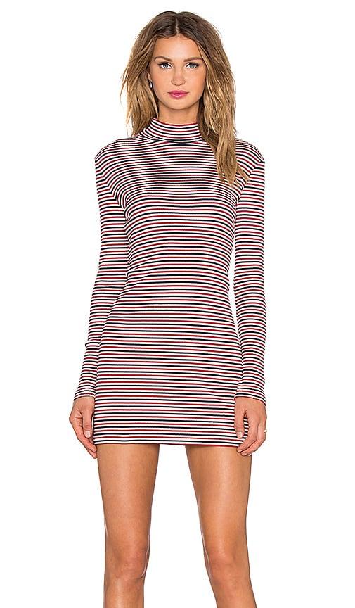 Stripe Skivy Mini Dress