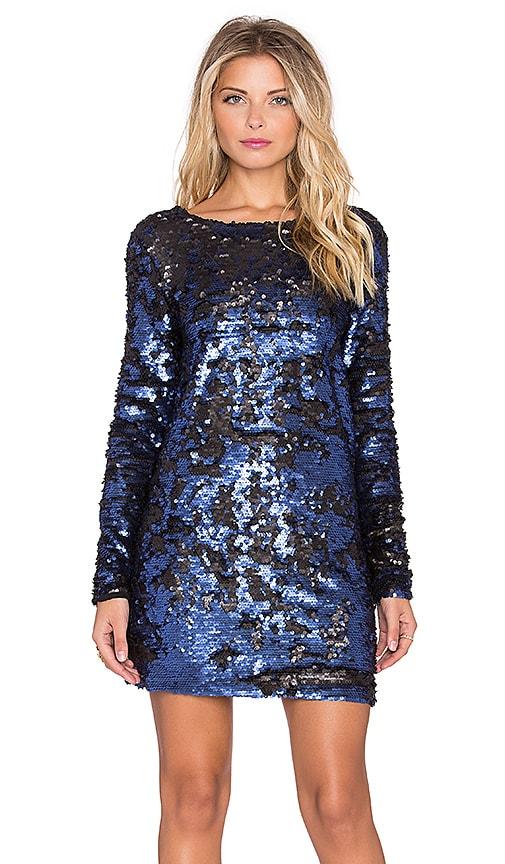 Great Escape Low Back Sequin Dress