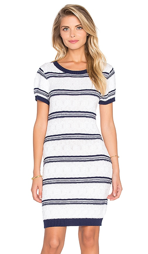 MINKPINK Read Between The Lines Dress in White
