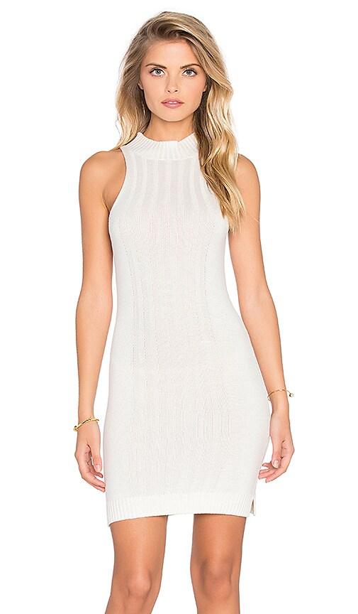 MINKPINK Read On Dress in White