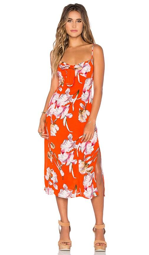 Tangerine Dream Midi Dress