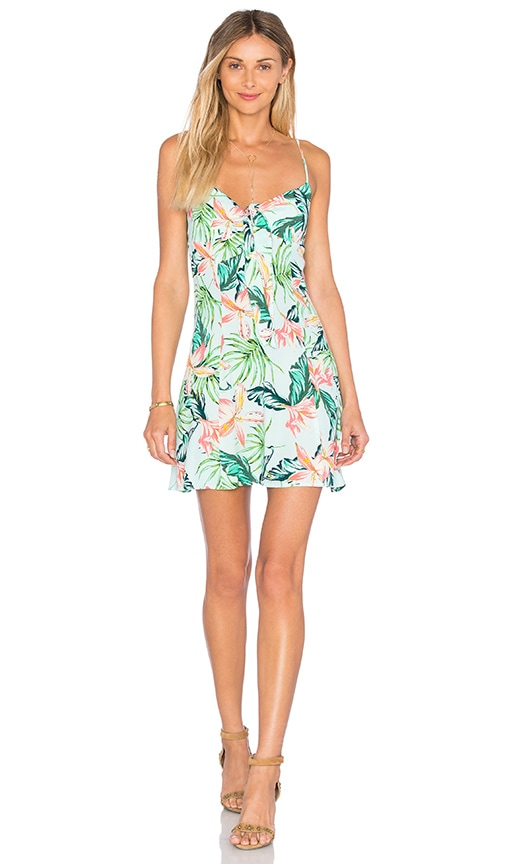 MINKPINK Sunshine Coast Dress in Mint