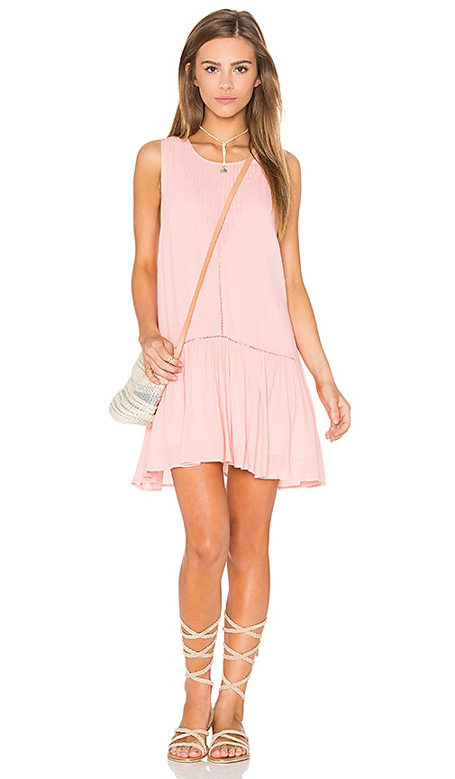 MINKPINK Blushing Beach Dress in Pink