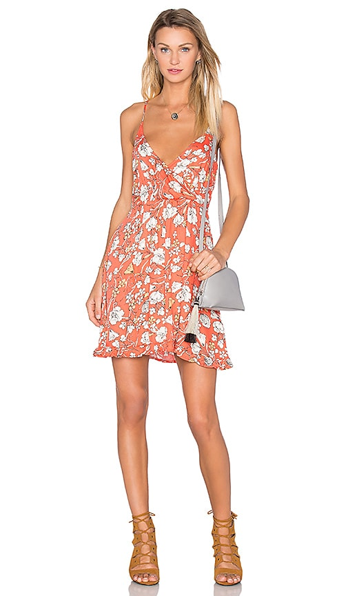 MINKPINK Mini Dress in Orange