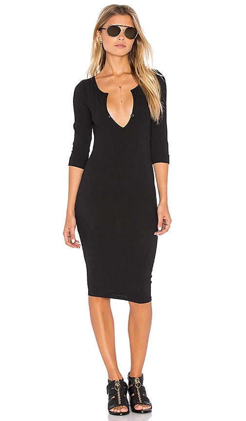 MINKPINK Midnight Mischief Dress in Black