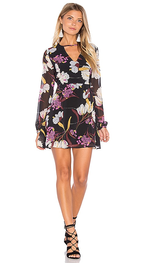MINKPINK Lost in Paradise Dress in Black