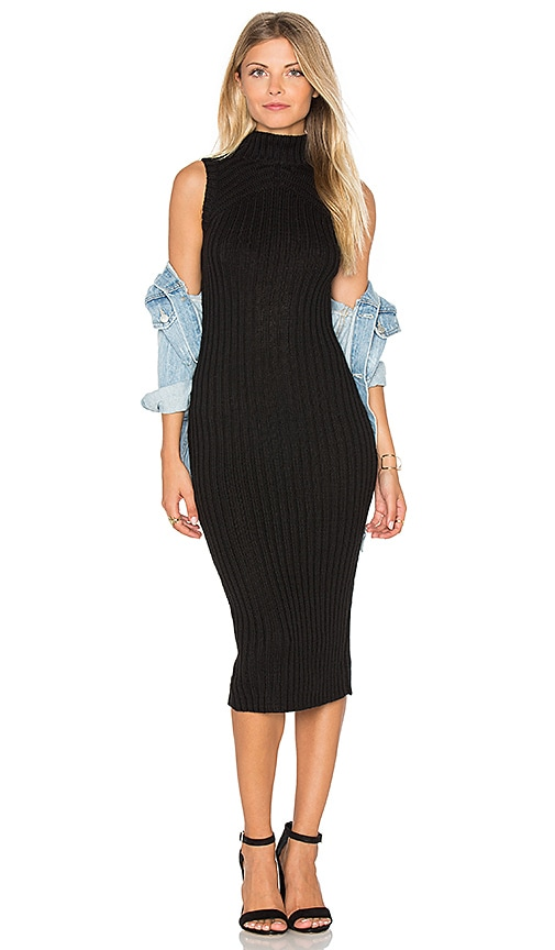 MINKPINK Stolen Identity Dress in Black