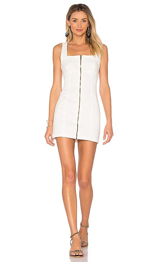 MINKPINK Escape Mini Dress in White
