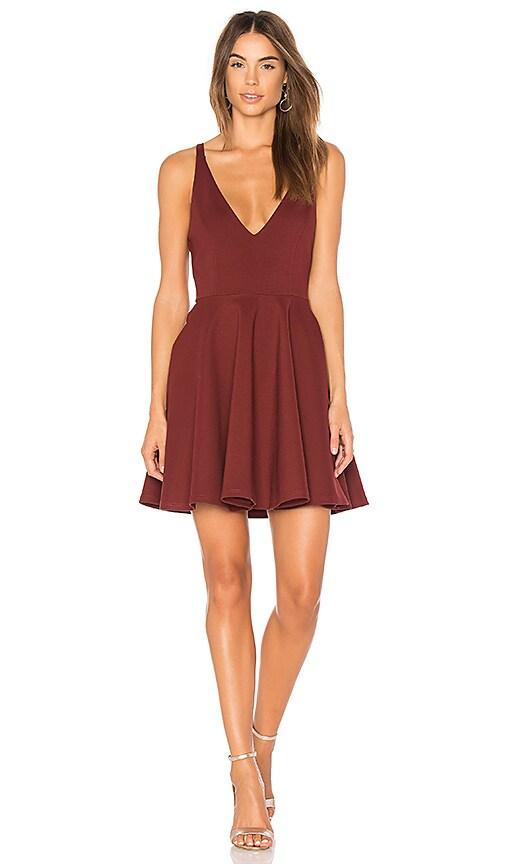 MINKPINK Date Night Dress in Red