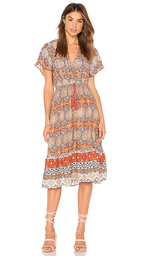 Days In Marrakesh Midi Dress