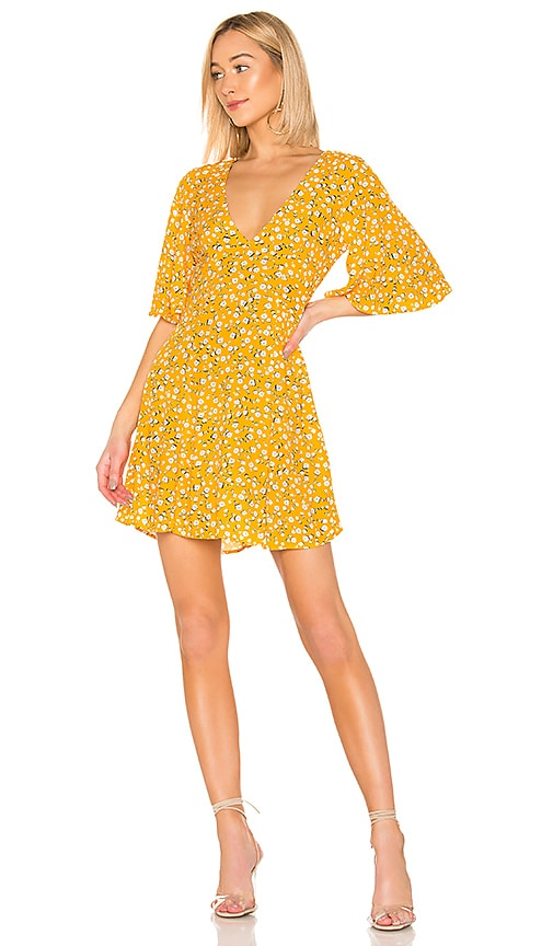 Summer Daisy Tea Dress