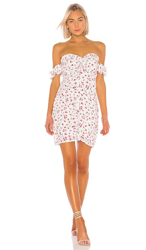 Burma Bloom Mini Dress