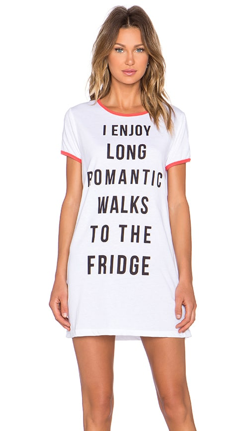 ROBE T-SHIRT ROMANTIC WALKS
