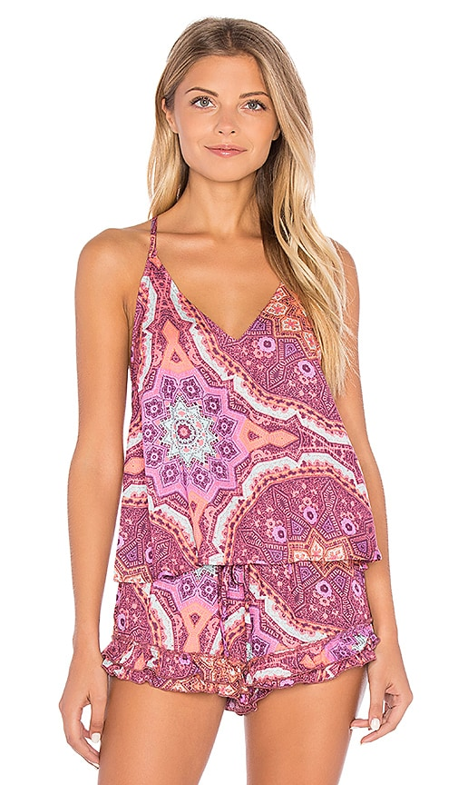 MINKPINK Psychedelia Cami in Pink
