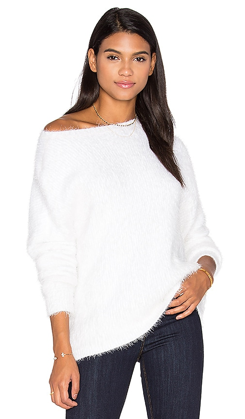 MINKPINK Soft Serve Sweater in White
