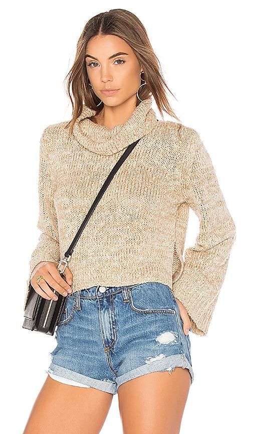 MINKPINK Dutchess Full Sleeve Sweater in Cream