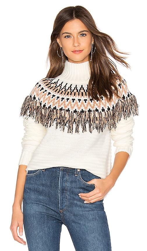 Wild And Free Fringe Knit Sweater