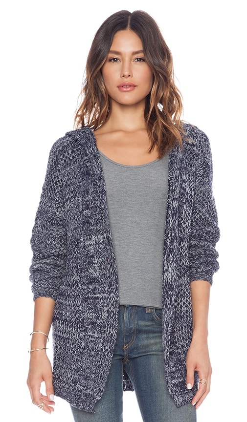 Direct Hit Hooded Cardigan