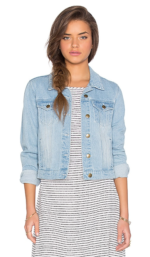 MINKPINK Unstoppable Jacket in Denim