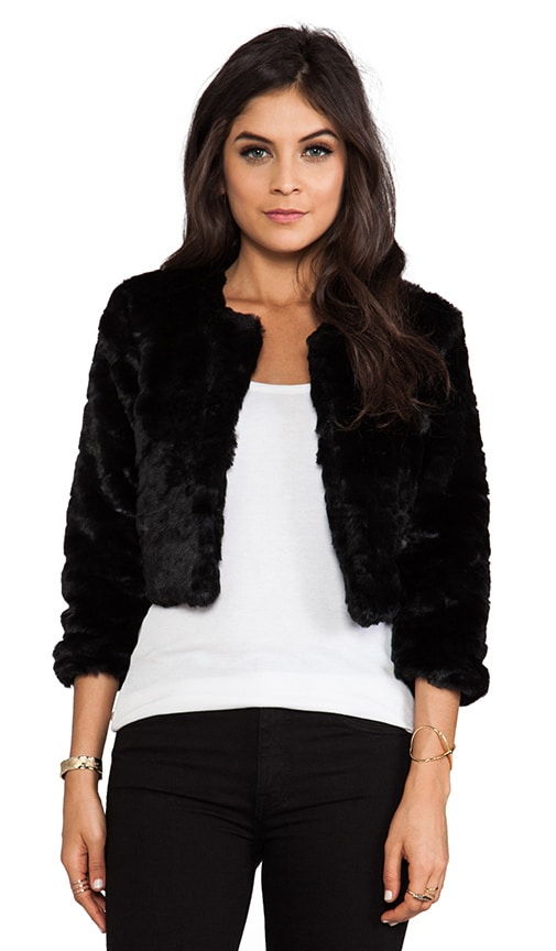 Oh Darling Faux Fur Jacket