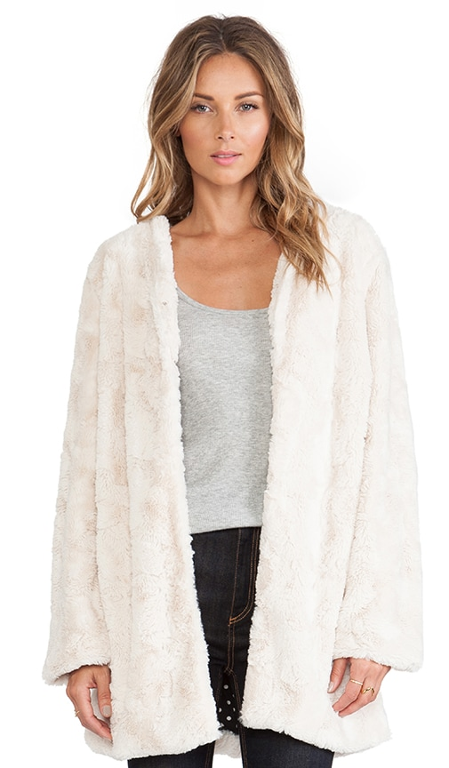 Powder Room Faux Fur Jacket