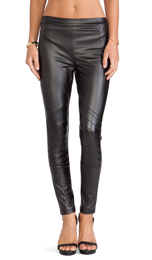 Easy Rider Faux Leather Leggings