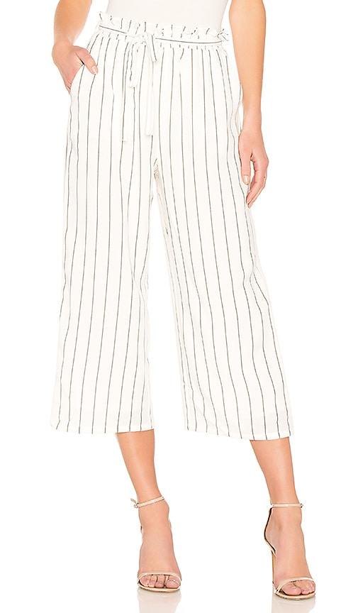 MINKPINK Pin Stripe Pant in White