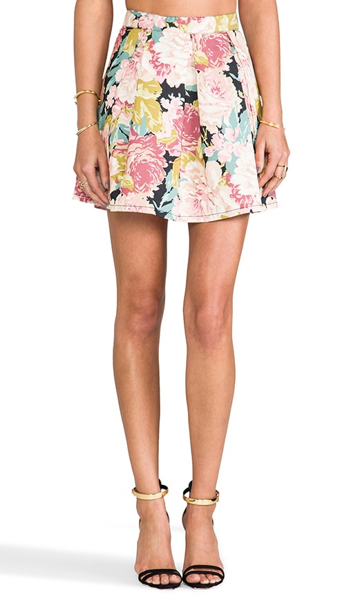 English Garden Mini Skirt