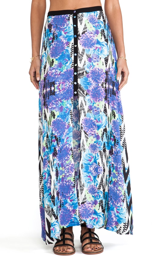 Garden Breeze Maxi Skirt