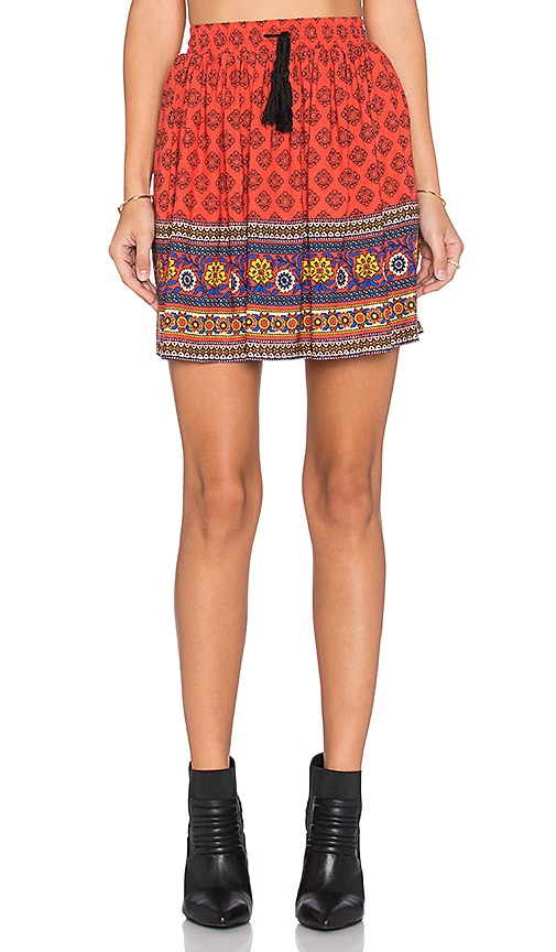 MINKPINK Boho Queen Skirt in Multi