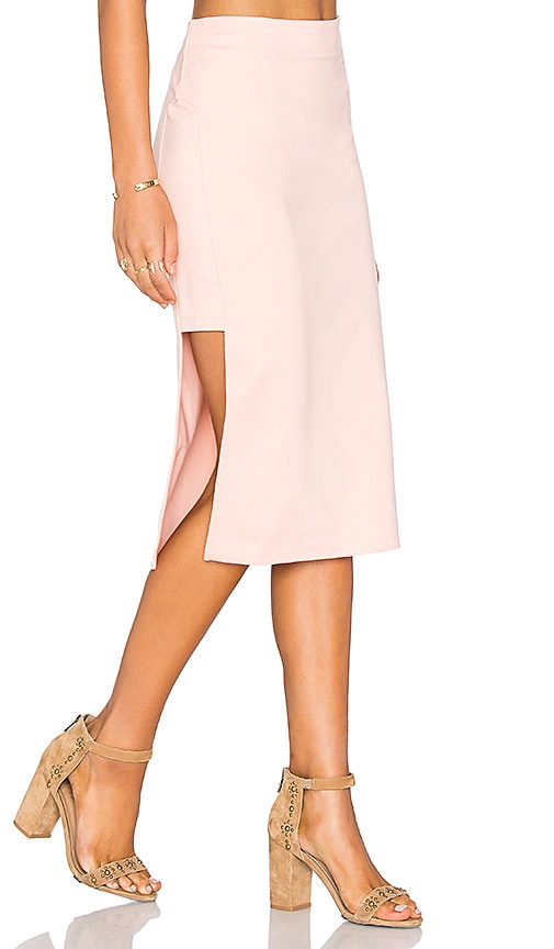 MINKPINK Moon Child Skirt in Blush
