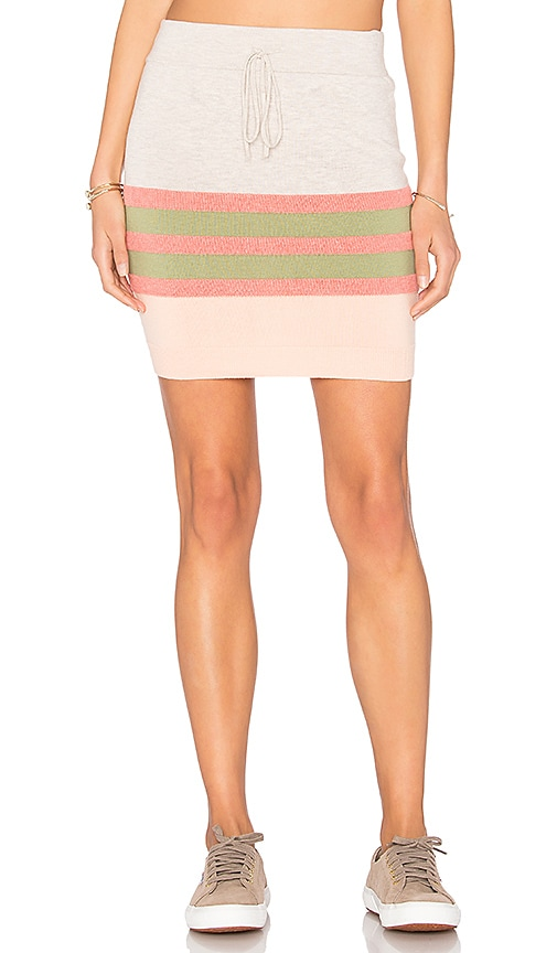 MINKPINK Market Skirt in Coral