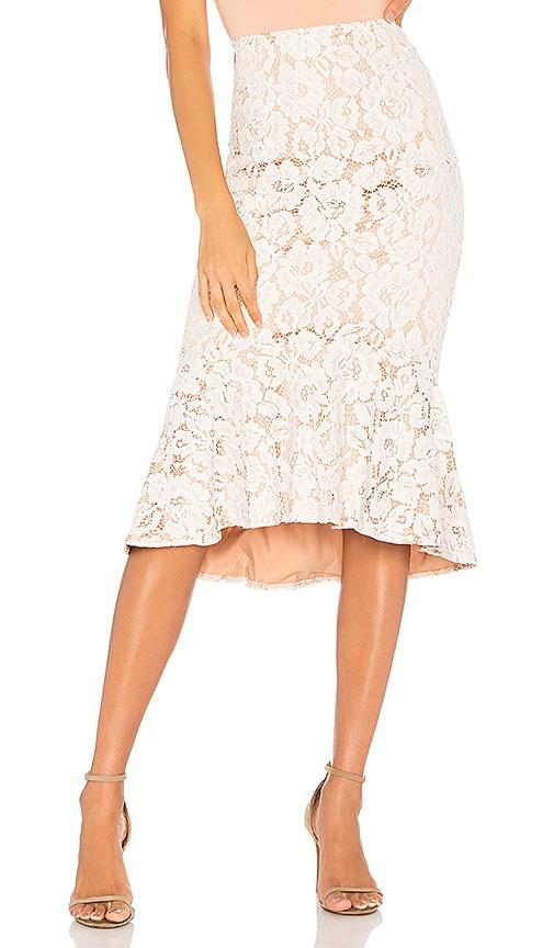 Marseille Lace Midi Skirt