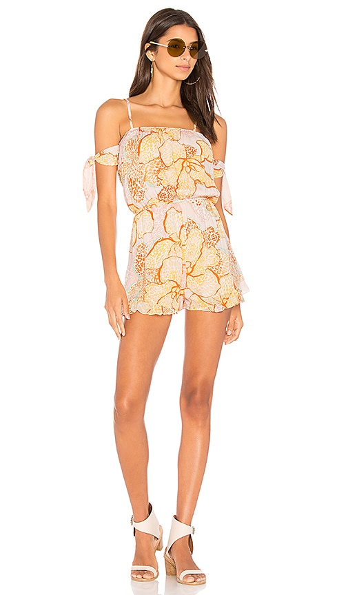 3acb839d985 Animal Orchid Playsuit. Animal Orchid Playsuit. MINKPINK