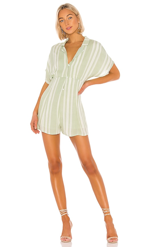 On The Line Shirt Romper