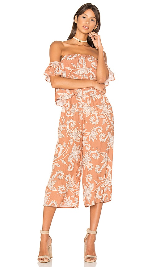 Nusa Dua Off Shoulder Jumpsuit