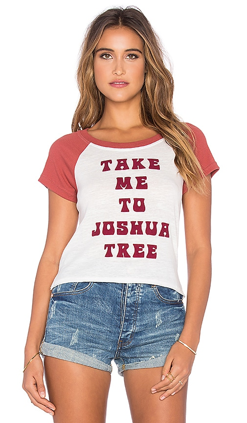 MINKPINK Take Me To Joshua Tree Tee in White