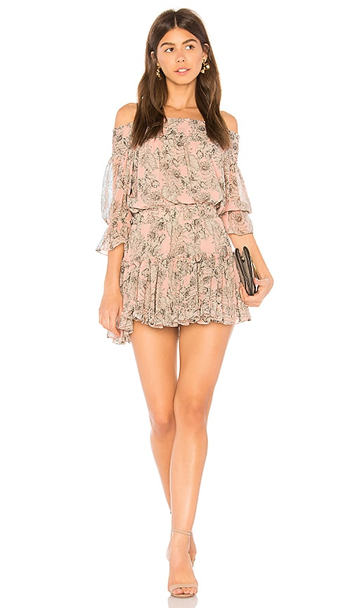 MISA Los Angeles Geroux Dress in Pink