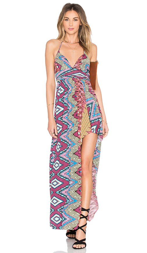 MISA Los Angeles Ever Maxi Dress in Summer Ikat