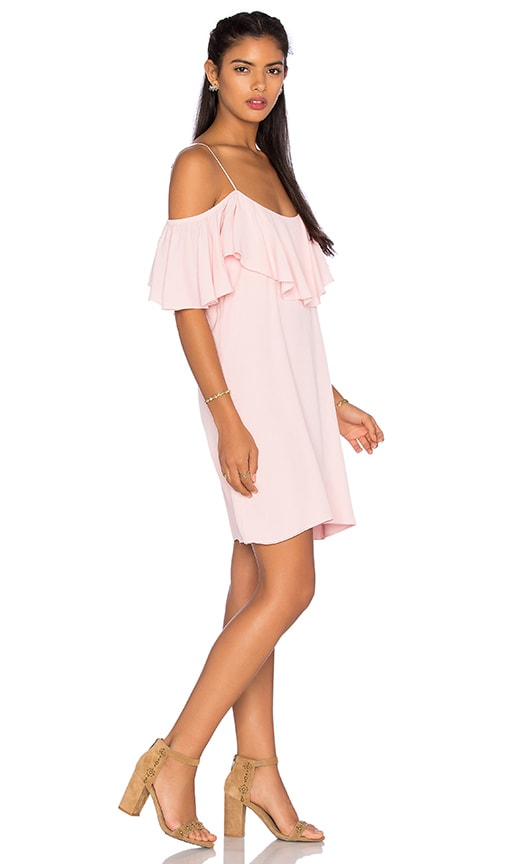 MISA Los Angeles Emil Mini Dress in Pink