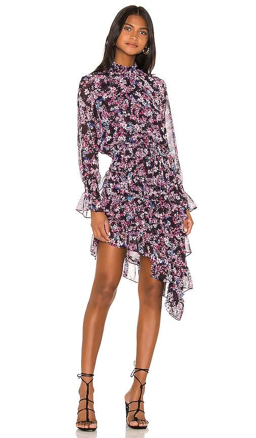 X REVOLVE Savanna Asymmetrical Mini Dress