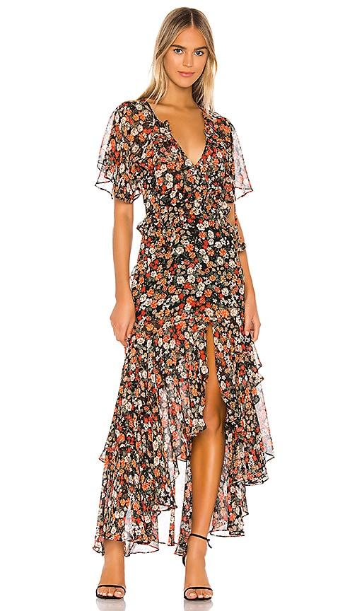 MISA Los Angeles Katarina Dress in Safari Floral | REVOLVE
