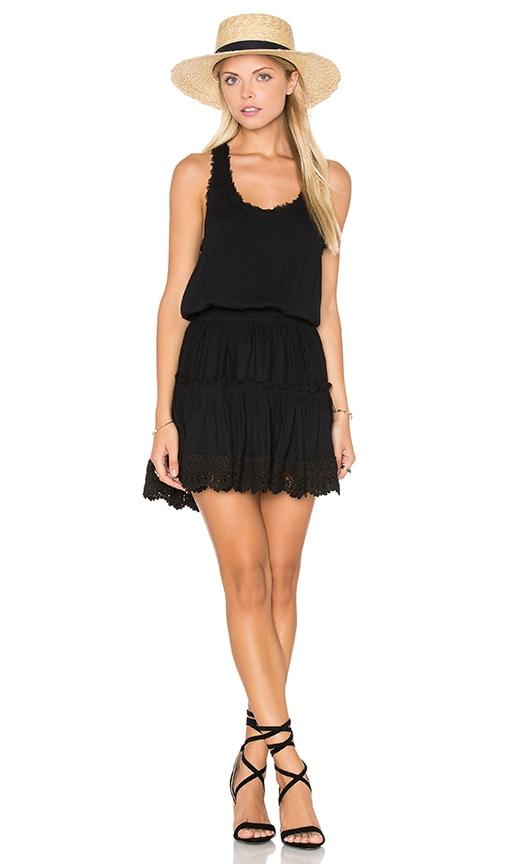 MISA Los Angeles Goldie Mini Dress in Black