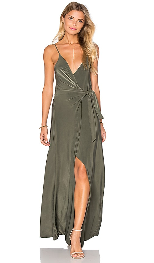 MISA Los Angeles Veronika Dress in Olive