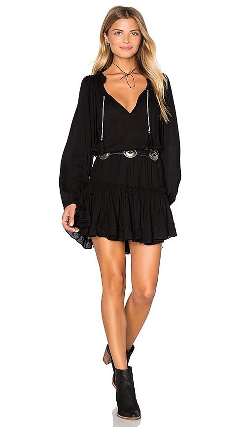 MISA Los Angeles Lorena Dress in Ink Black