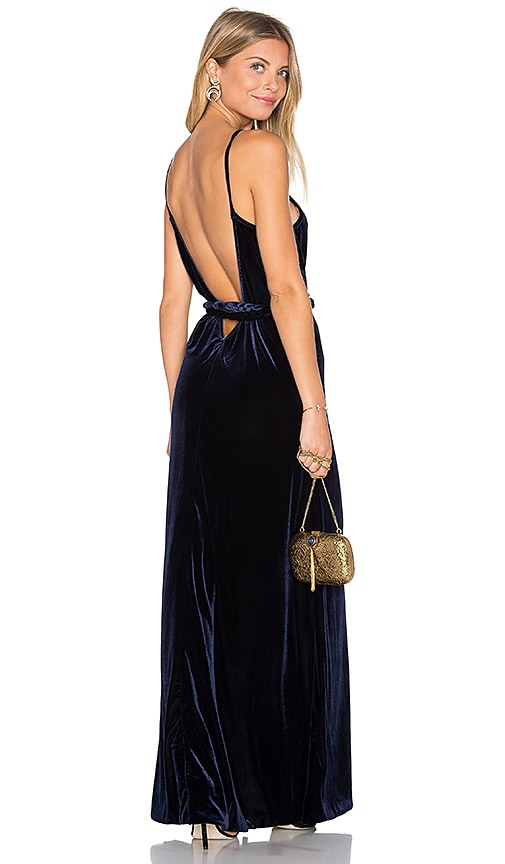 MISA Los Angeles Chelsea Dress in Navy