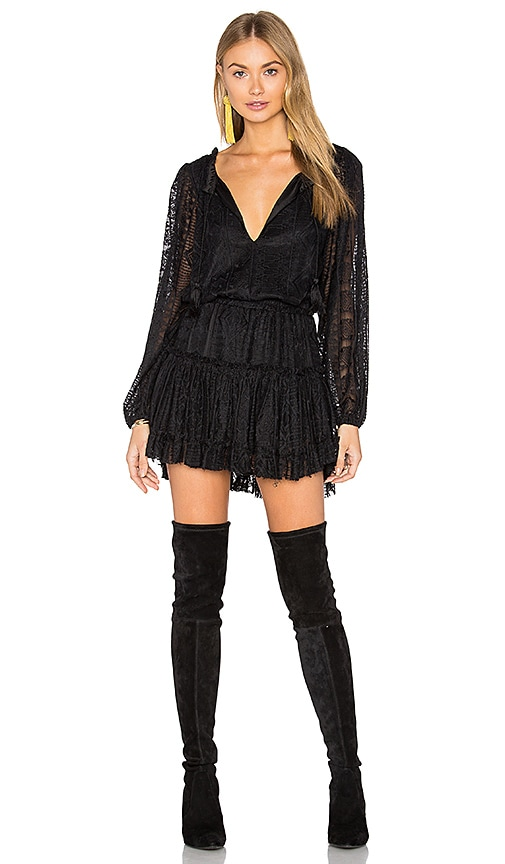 MISA Los Angeles Lorena Dress in Black