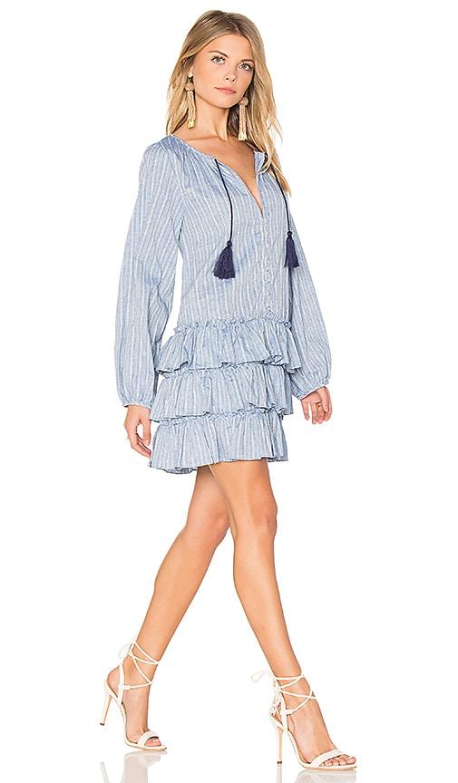 MISA Los Angeles Nadine Dress in Blue
