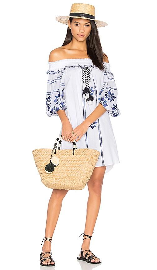 MISA Los Angeles Natalie Dress in White